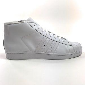 Adidas Pro Model Triple White Mid Shoes B27450